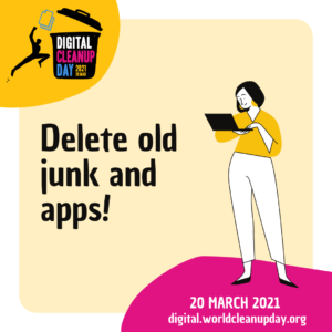Delete useless files, unused apps, and old emails